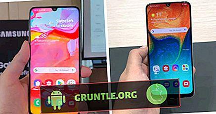 Samsung Galaxy A50 vs A70 vs A80 Jämförelseöversikt
