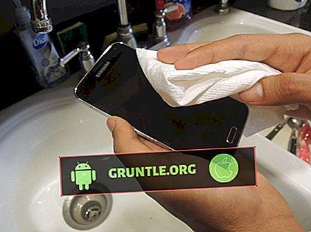 Saker att göra när du har en vattenskadad Android-telefon