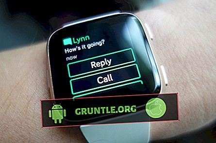 Fitbit Versa'da Metin Mesajları Nasıl Gidilir?