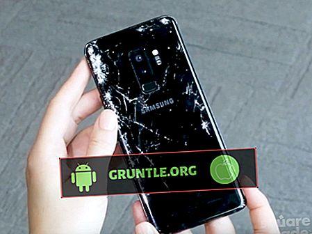 Hur man reparerar knäckt skärm Samsung Galaxy S9 Plus