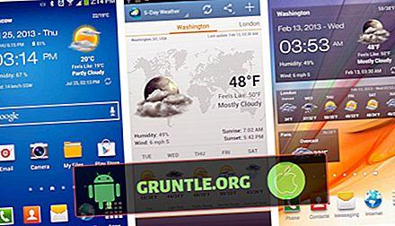 7 bästa klockwidgets för Android år 2020