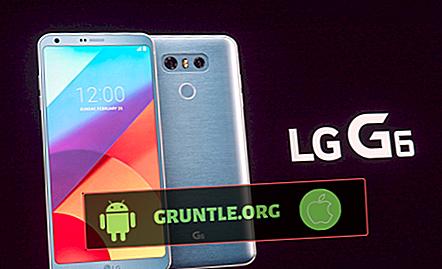 Löst LG G6-skärm stoppad fungerar