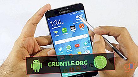 Fixa Samsung Galaxy Note 2-batteri som tappar snabbt
