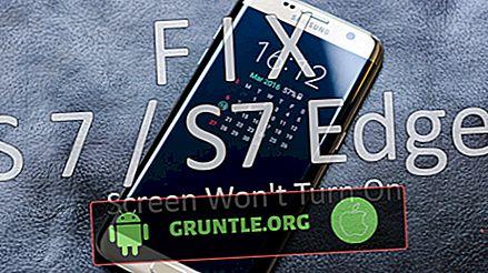 Hur du felsöker Samsung Galaxy S7 som inte kommer att slås på