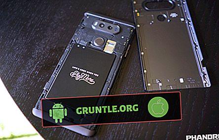 LG V20-batteri tappar snabbt