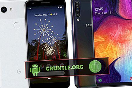 Điện thoại thông minh tầm trung tốt nhất Pixel 3a vs Galaxy A50 2020