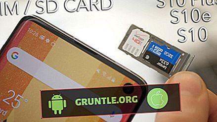 Comment insérer ou retirer une carte SD sur Galaxy S10 |  étapes faciles pour ajouter ou déconnecter une carte SD