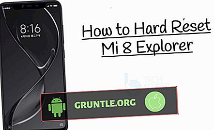 Cómo realizar un restablecimiento completo en Xiaomi Mi 8 (restablecimiento de fábrica o restablecimiento maestro)