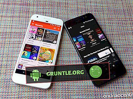 Google Play Music vs Spotify - Meilleurs services de diffusion de musique en streaming pour comparaison Android