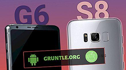 Galaxy S8 vs LG G6 Comparação Especificações