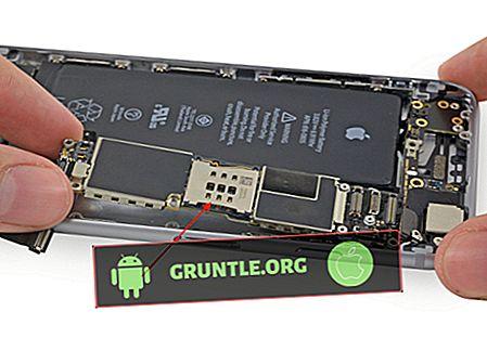 Come correggere l'errore della scheda SIM Galaxy S9 Plus non valido