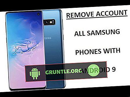 Como adicionar ou remover uma conta do Google no Galaxy S10.  adicionar ou excluir conta existente