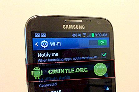 Hoe wifi voor Galaxy J7 (2017) op te lossen, kan het probleem niet worden ingeschakeld