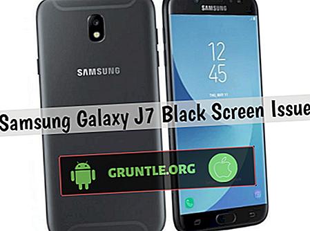 So beheben Sie das Problem mit dem schwarzen Bildschirm des Galaxy J7 Pro