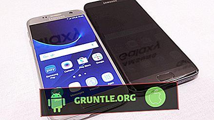 Tela preta de Samsung Galaxy S7 após a gota