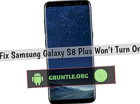 Hur man fixar Samsung Galaxy S8 Plus som inte kommer att slås på [Felsökningsguide]