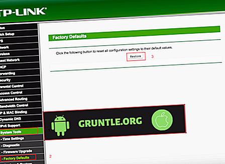 Cách đặt lại mật khẩu bộ định tuyến TP-LINK