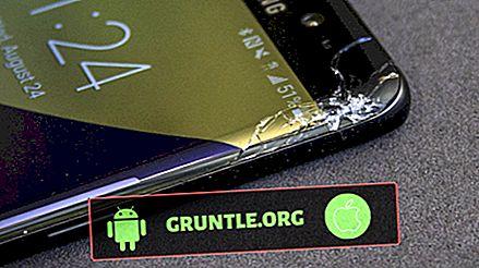 Come riparare lo schermo rotto Galaxy S8 che mostra linee orizzontali