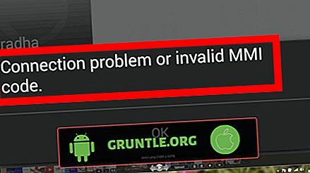 接続の問題または無効なMMIコードエラーを修正する方法