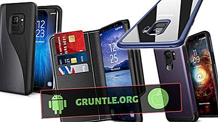 7 bästa plånbokväskor för Galaxy S9