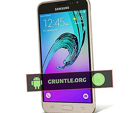 Hur man skärmdumpar på Samsung Galaxy J3