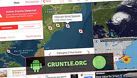 5 najlepszych aplikacji Hurricane Tracker