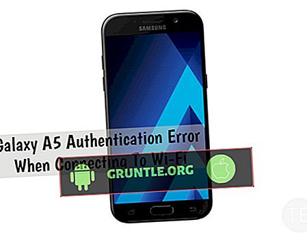 """""""Kamera başarısız"""" hatası göstermeye devam eden Samsung Galaxy A5 nasıl düzeltilir [Sorun Giderme Kılavuzu]"""