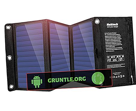 iPhone X를위한 최고의 휴대용 태양열 충전기