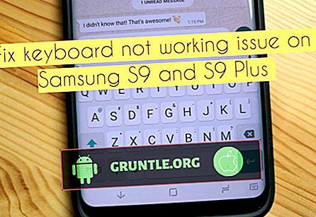 Hur du fixar Samsung Galaxy S9 E-post-app fungerar inte