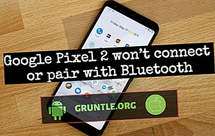 Comment réparer Google Pixel 2 qui ne se connecte pas ou ne se couple pas avec l'accessoire Bluetooth?  [Guide de dépannage]