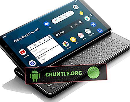 Topp 9 Android-smartphones med fysiska QWERTY-tangentbord