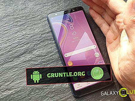 Como captura de pantalla en Samsung Galaxy A9