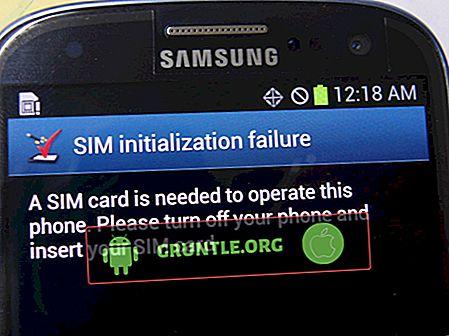 Hur man fixar Galaxy J7 som inte känner igen SIM-kortproblem