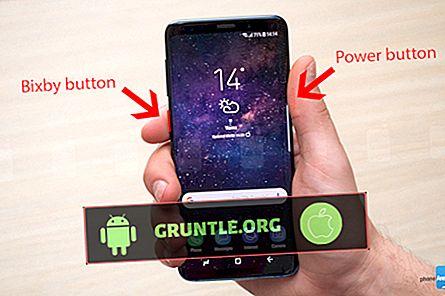 Das gelöste Samsung Galaxy S9 startet von alleine weiter