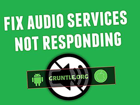 Cách khắc phục các dịch vụ âm thanh không phản hồi trong sự cố Windows 10