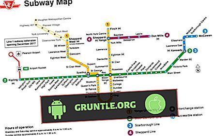 5 La mejor aplicación de mapas del metro de Toronto para Android