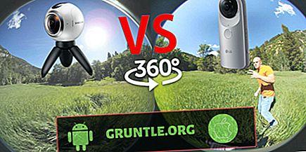 Kamera Samsung Gear 360 4K VR Vs LG 360 Cam