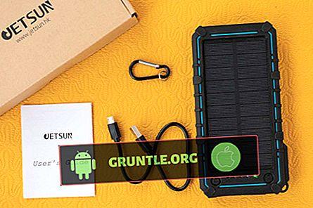 IPhone 8 için En İyi 5 Taşınabilir Solar Şarj Cihazı