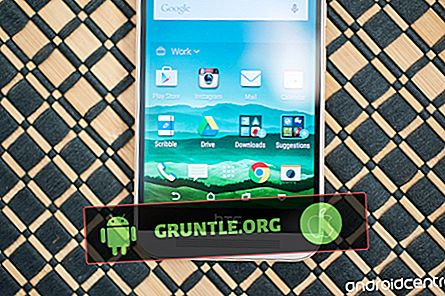 Het startscherm en de apps op de HTC One M9 beheren