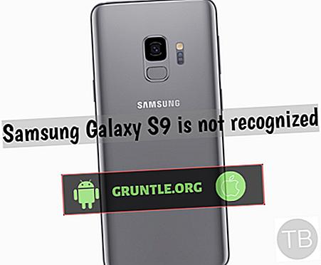 Samsung Galaxy Note 9 non détecté ou reconnu par PC