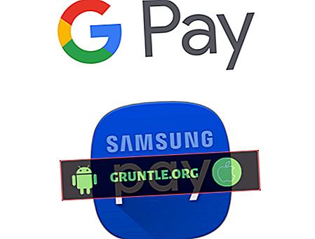 Samsung PayとAndroid Payの違いは何ですか?