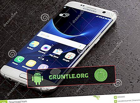 La mitad de la pantalla del Samsung Galaxy S7 es blanca