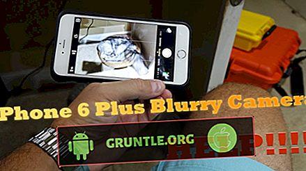 iPhone 6, iPhone 6 Plus-kameran är suddig och fungerar inte korrekt
