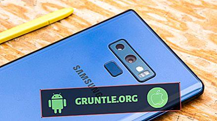 """Solution de """"Erreur lors de la récupération d'informations du serveur [RPC: S-7: AEC-0]"""" sur le Samsung Galaxy Note 9"""