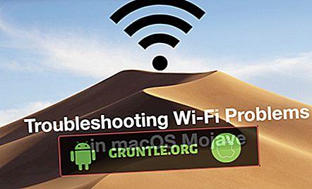 Comment résoudre les problèmes de macOS Mojave WiFi, impossible de se connecter au WiFi