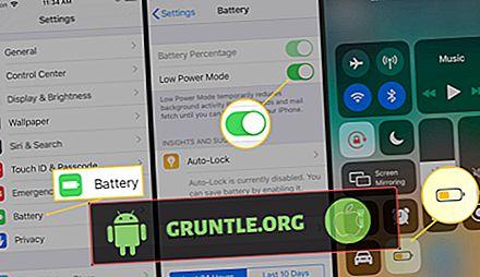 Apple iPhone X 절전 : iPhone X에서 배터리 수명을 보존하고 연장하는 방법 [튜토리얼]