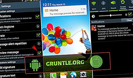Disabilitazione annunci nella barra di notifica Samsung Galaxy S4