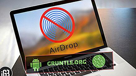 Hur man fixar AirDrop som inte fungerar på Apple iPhone XR [Felsökningshandbok]