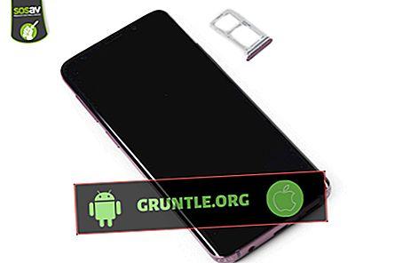 Galaxy S9 용 SD 카드를 삽입하거나 제거하는 쉬운 단계