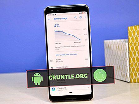 Comment réparer Google Pixel 3, mauvaise qualité des appels